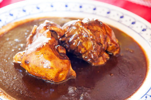 Chicken with Mole Rojo