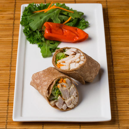 Gluten Free Chicken Salad Wrap