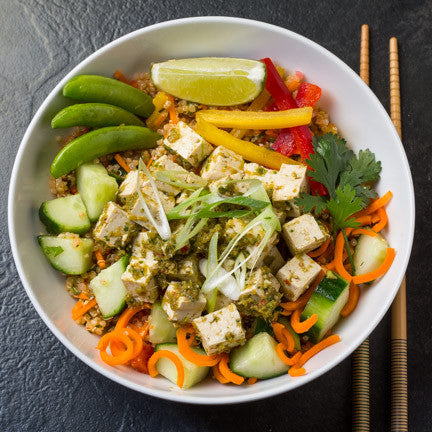 Stir Fry Tofu Bowl