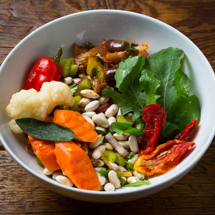 Mediterranean Vegetable Bowl