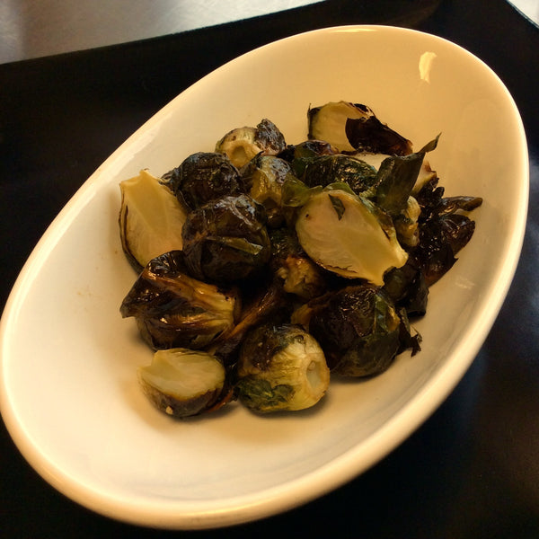 Holiday à la carte - Roasted Brussels Sprouts