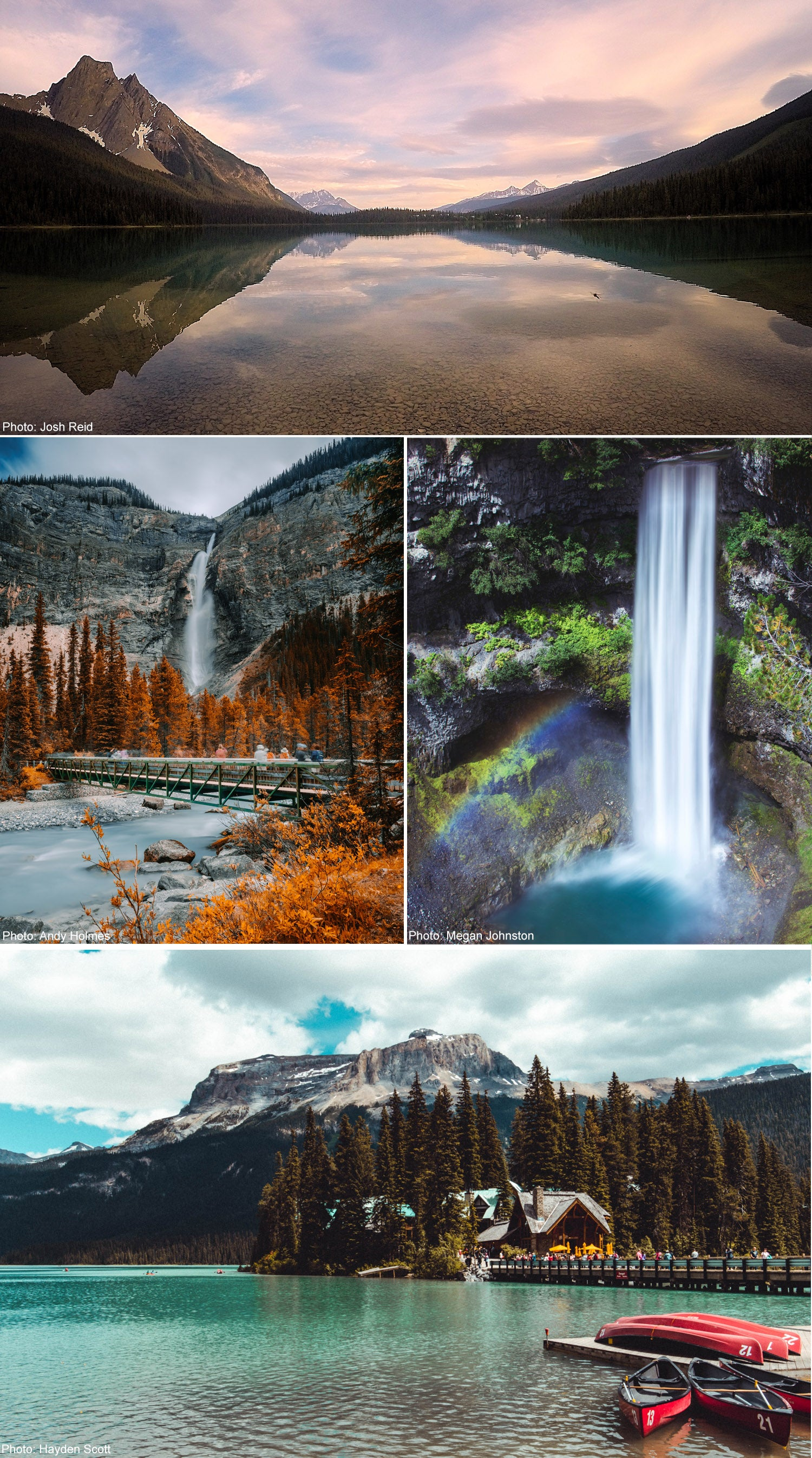 Scenic Photos of Canada