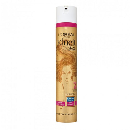 L'Oreal Elnett Satin Supreme Hold Volume Hairspray 400 mL