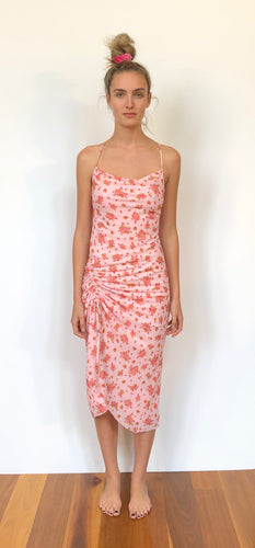 CHARLIZE DRESS CANDY FLORAL