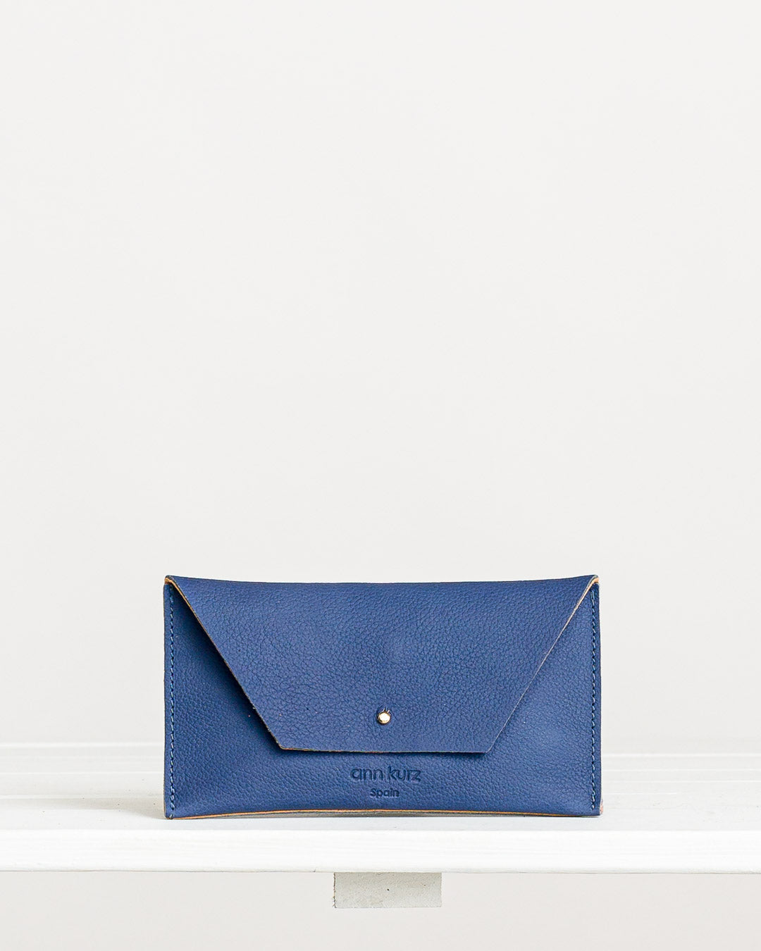 Ann Kurz // Purse Mini Mia Western Klein Blue