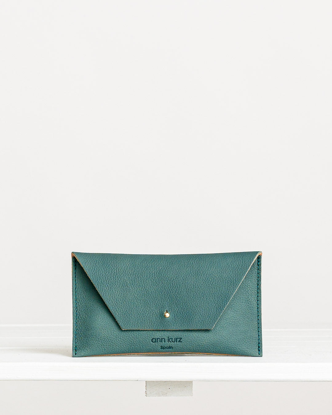 Ann Kurz // Purse Mini Mia Western Dark Mint