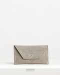 Ann Kurz // Purse Mini Mia Suede Stone