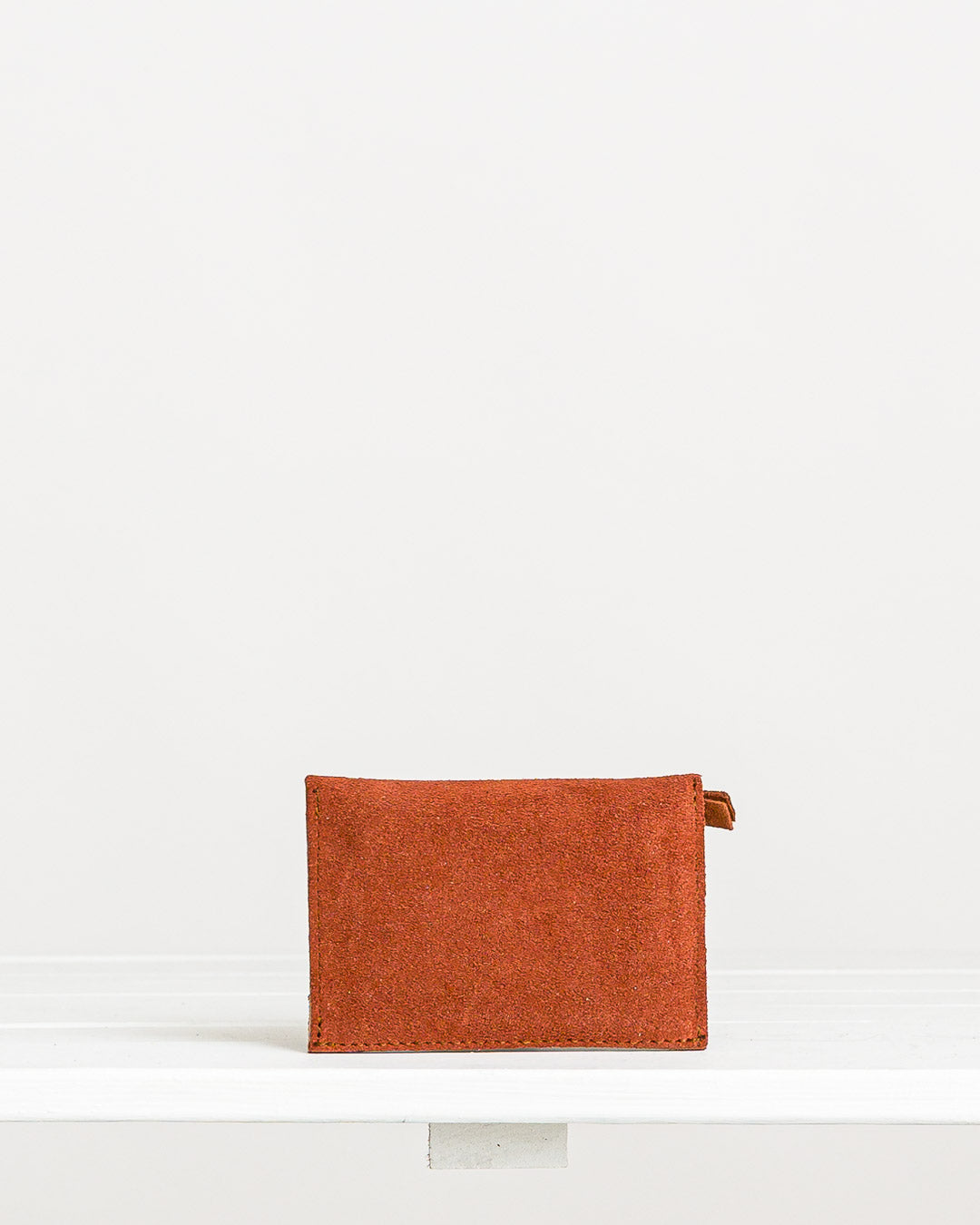Ann Kurz // Purse Mika Suede Dark Peach