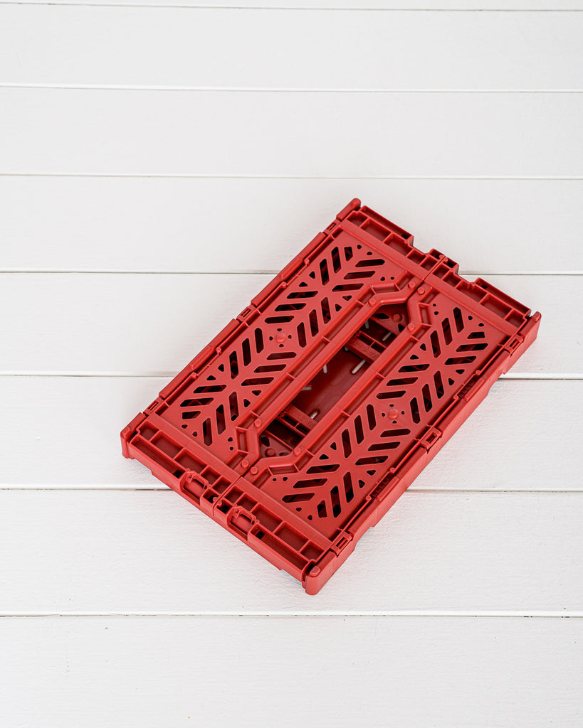Aykasa // Klappkiste Mini Tile Red