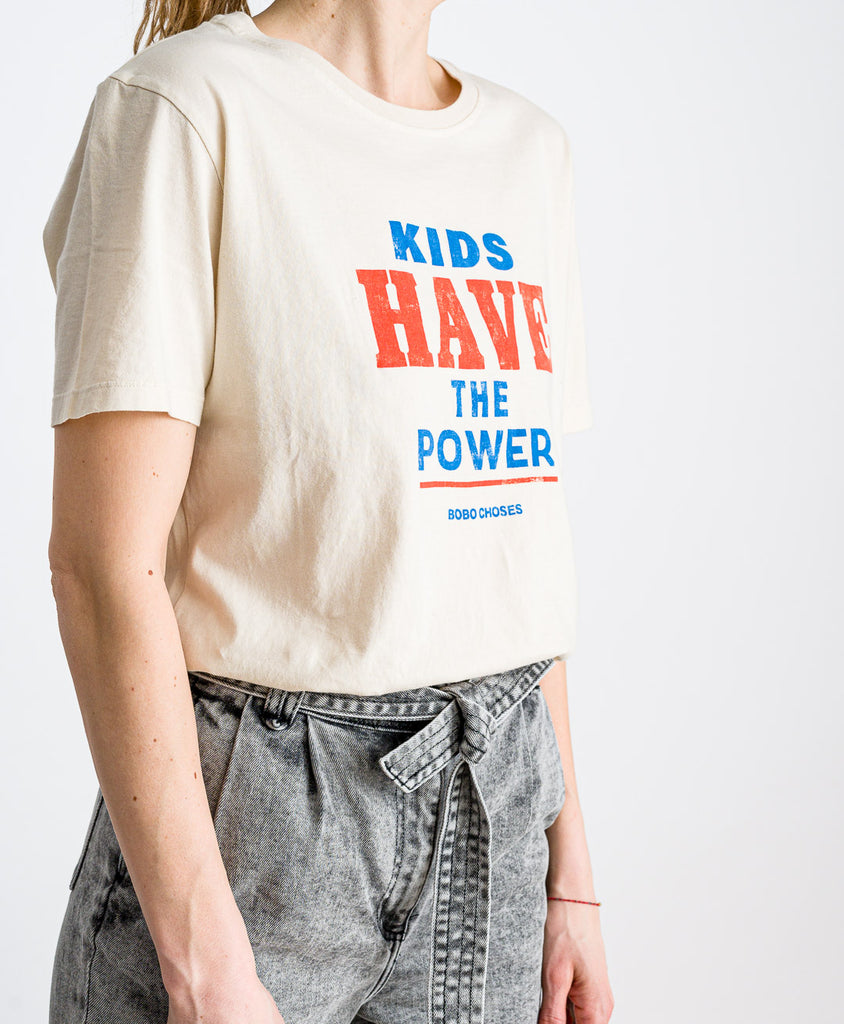 Bobo Choses // T-Shirt Kids Have The Power Off White