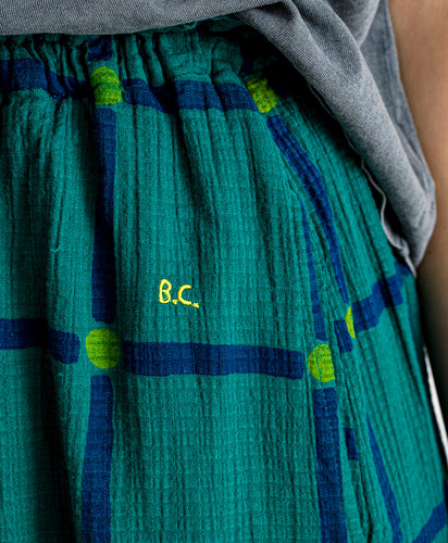 Bobo Choses // Rock Check Midi Green