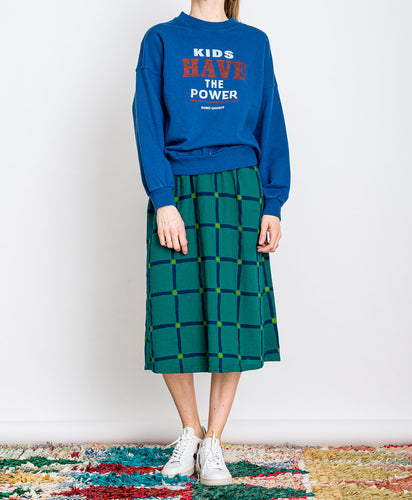 Bobo Choses // Sweater Kids Have The Power Blue
