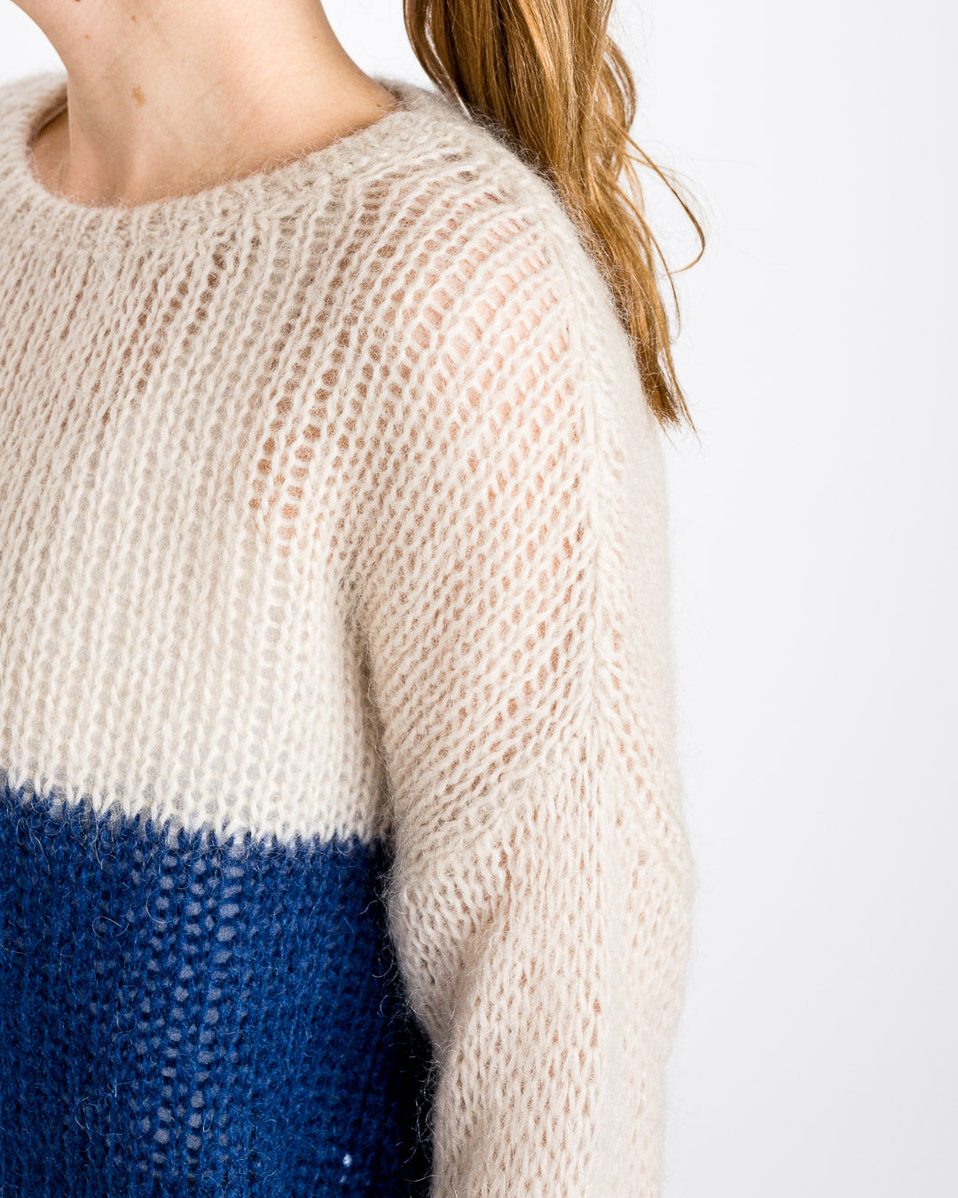 by-bar amsterdam // Pullover Evi Astro Option Blue