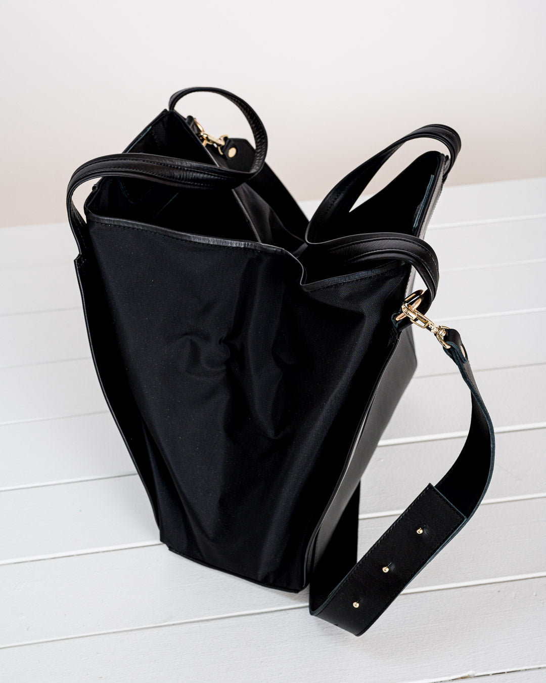 Craie Boutique //  Tasche Architecte Nylon Noir