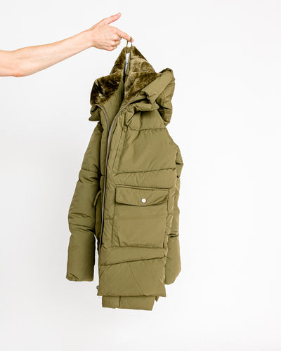Embassy Of Bricks And Logs // Puffer Jacket Lyndon Olive