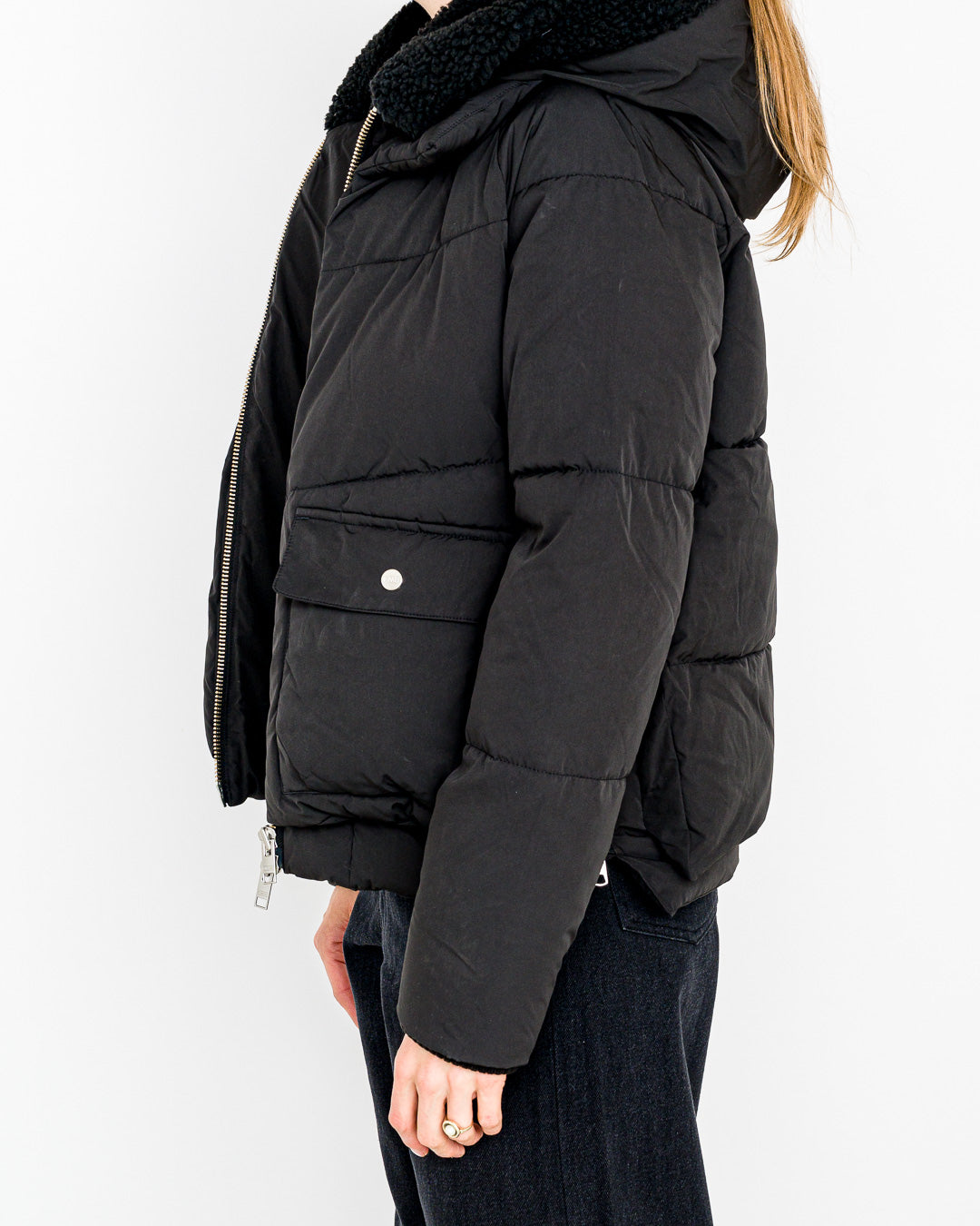 Embassy of Bricks and Logs // Vegane Winterjacke Leicester Black