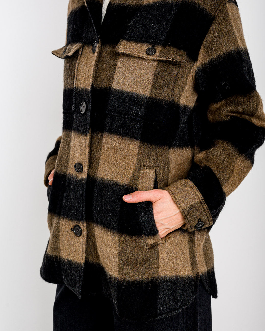 Hartford // Jacke Vico Big Check