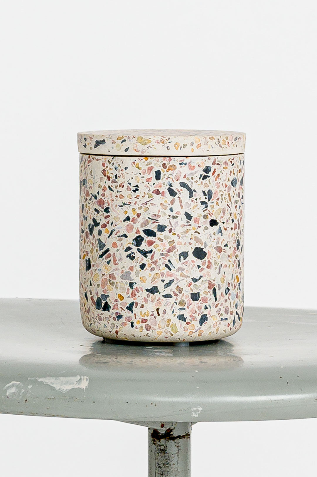 HKliving // Dose Terazzo Jar Multicoloured