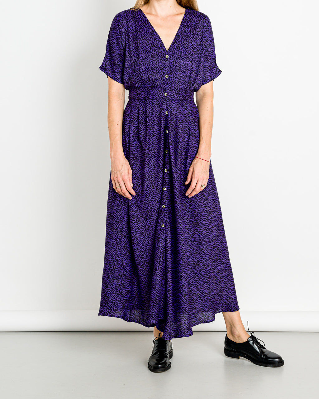 Leon&Harper // Kleid Ravel Grape