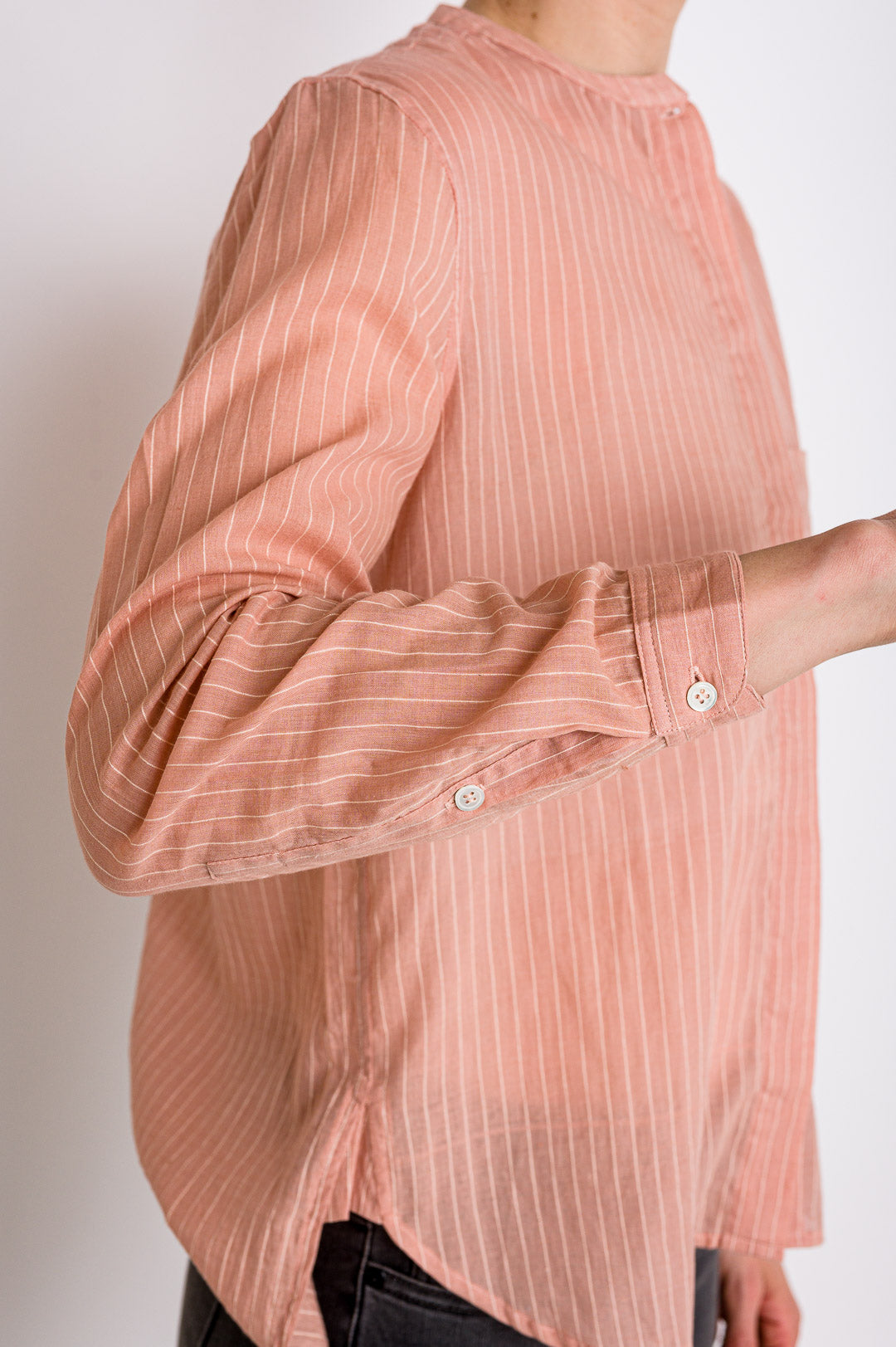 Moismont // Bluse No. 511 Stripes Pink
