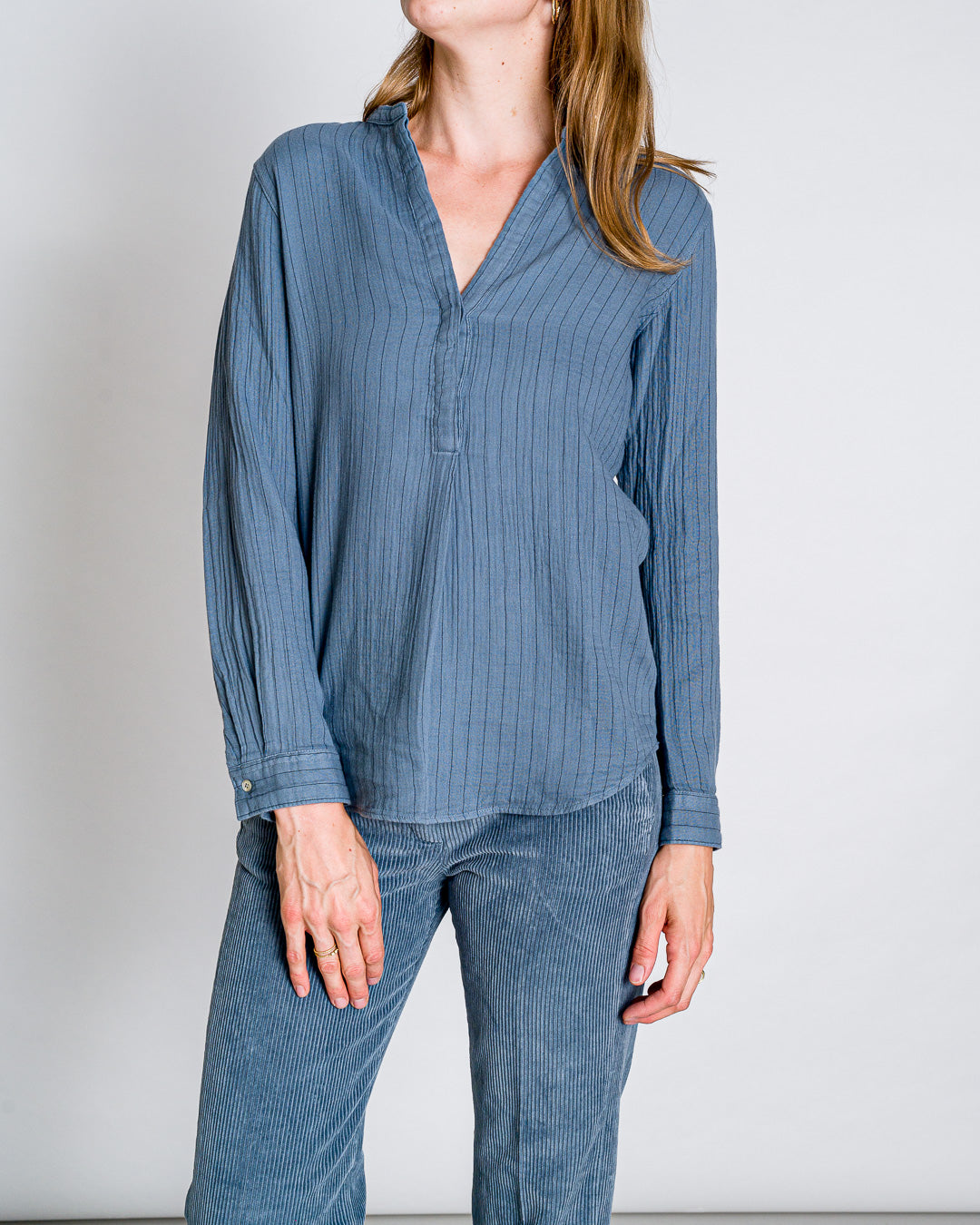Hartford // Bluse Carta Stripes Horizon Stripes