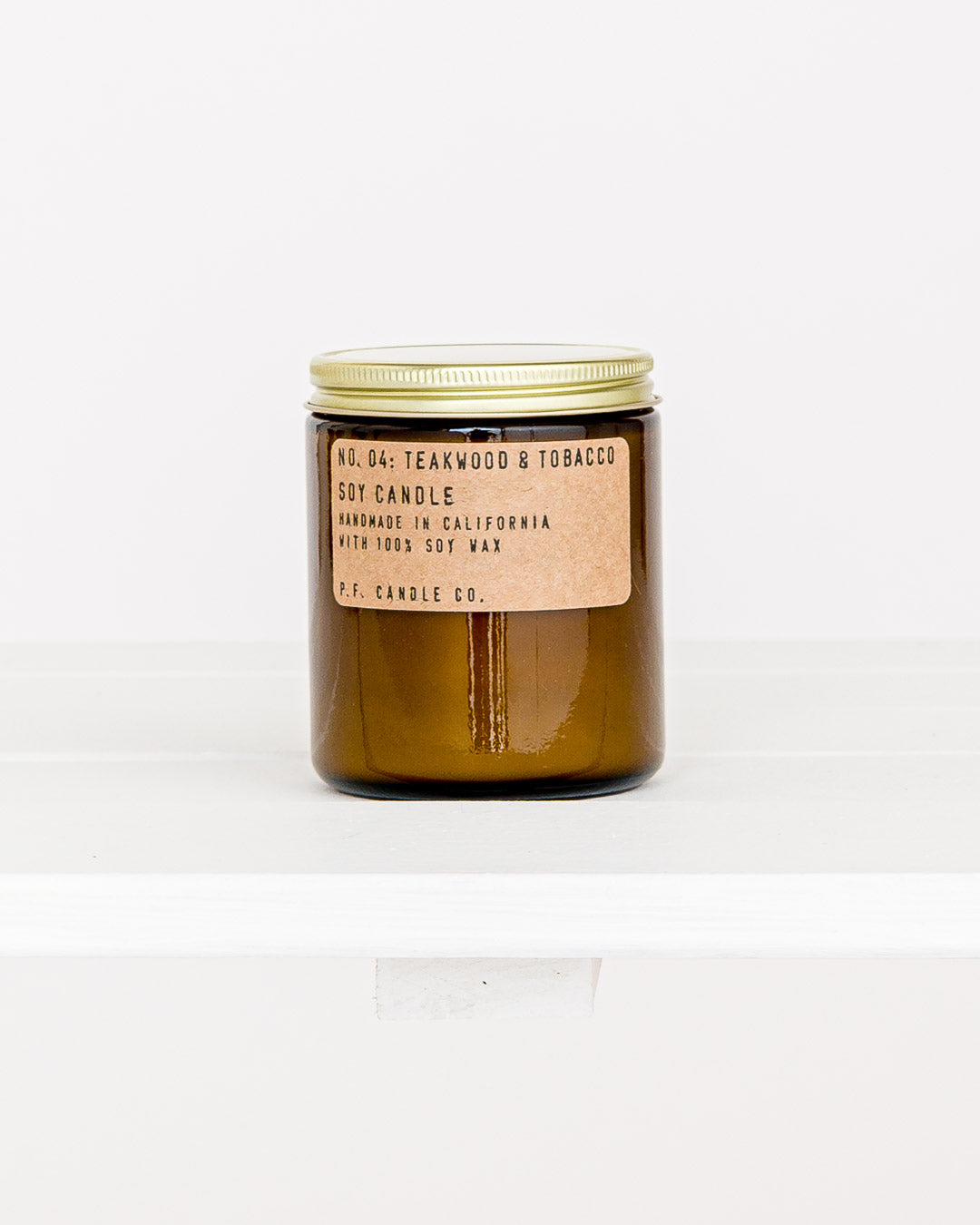 PF Candle Co. // Kerze No. 04 Teakwood & Tobacco