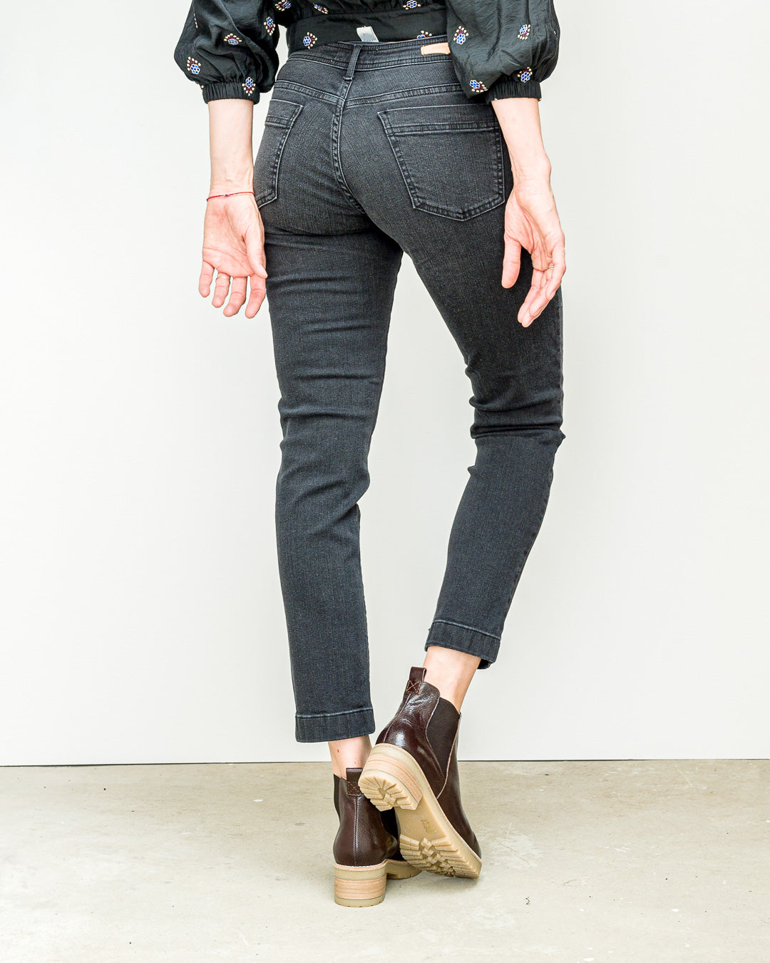 Sessun // Denim Jeans Stoneford Black Black