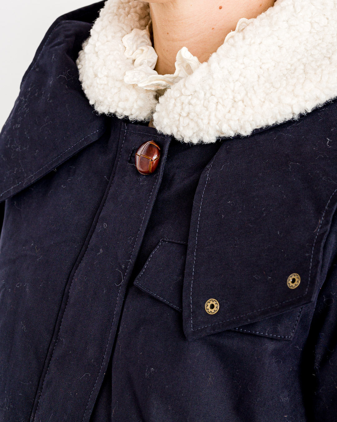 Sessun // Parka Brighton Navy