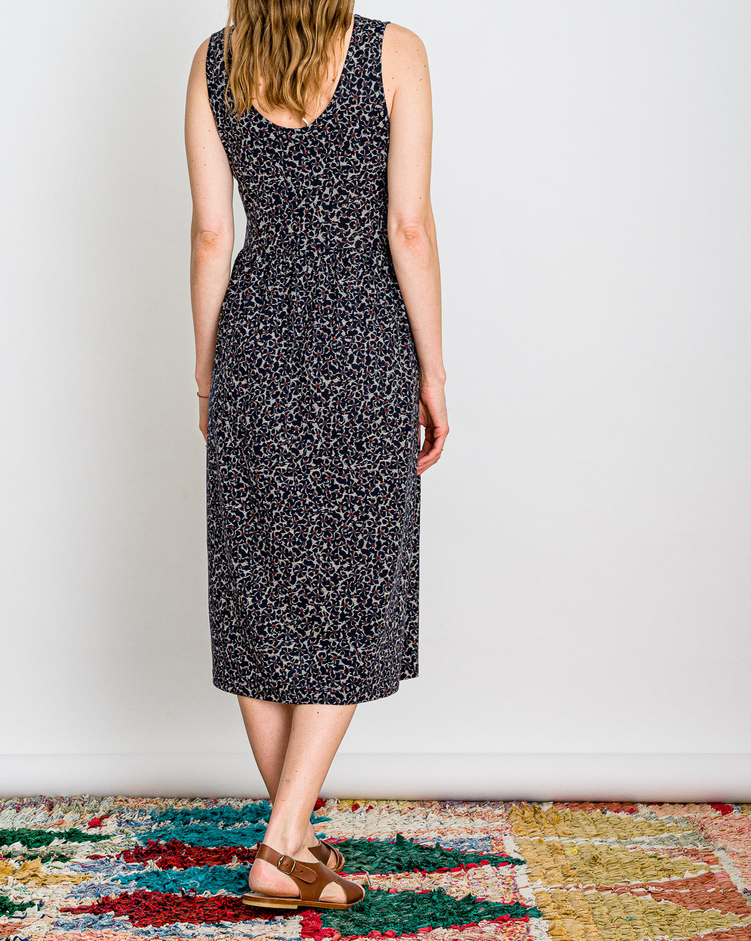SESSUN  // Kleid Josepha Navy