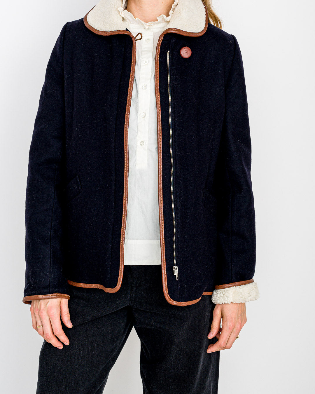 Sessun // Jacke Paolo Navy