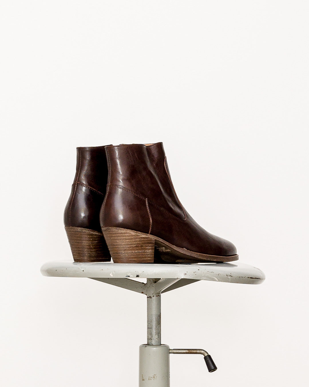 Sessun // Ankle Boots Pioneer Town Dark Brown