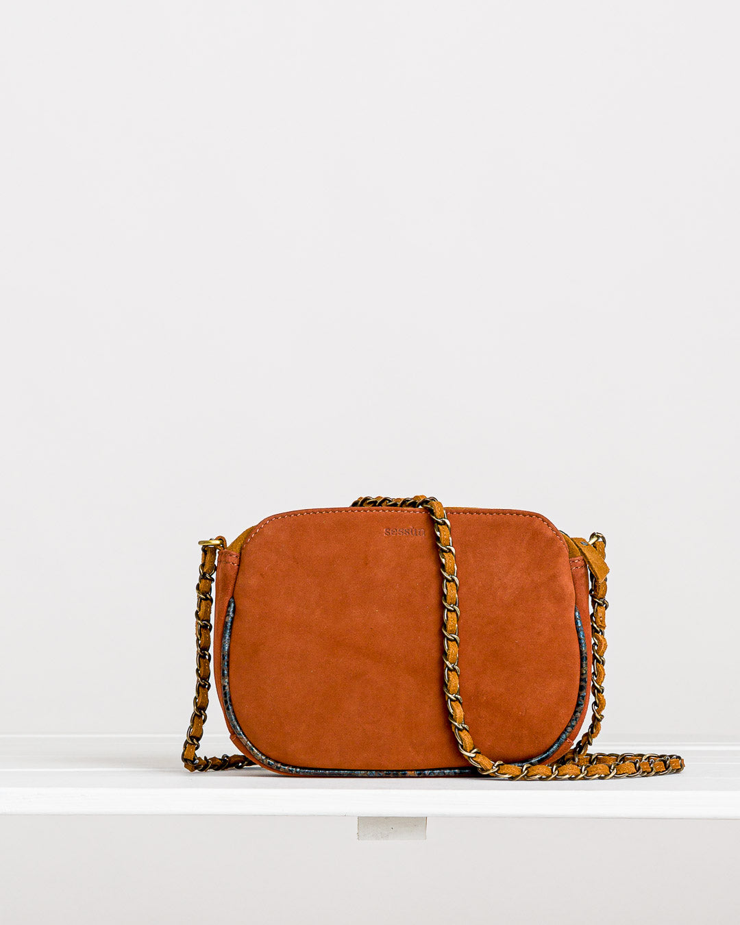Sessun // Tasche Divine Tan Denim