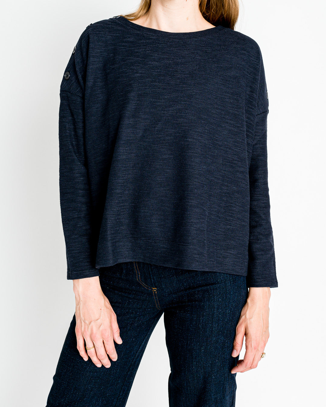 Sessun // Sweatshirt Austin Navy