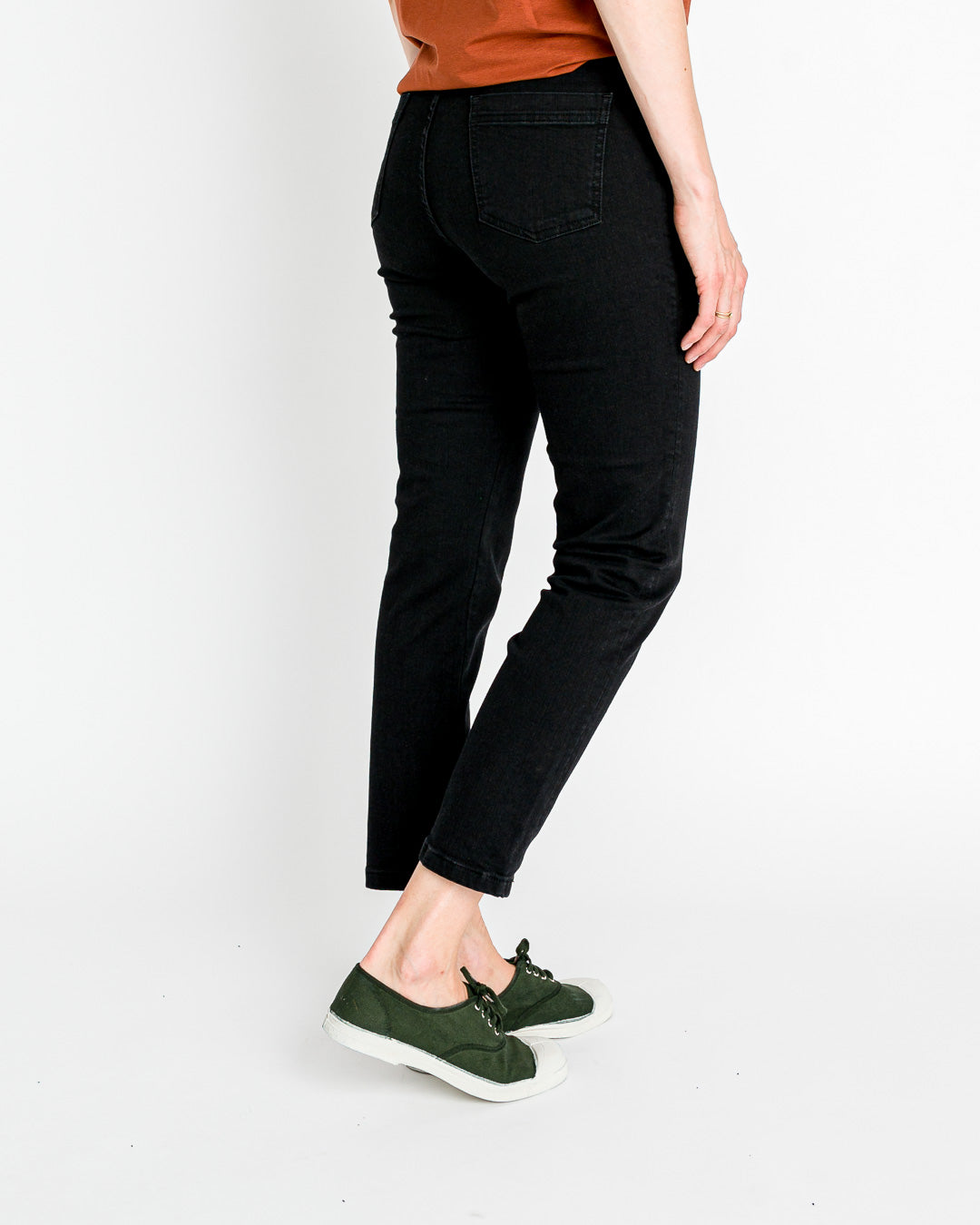 Sessun // Denim Jeans Momon Pure Black