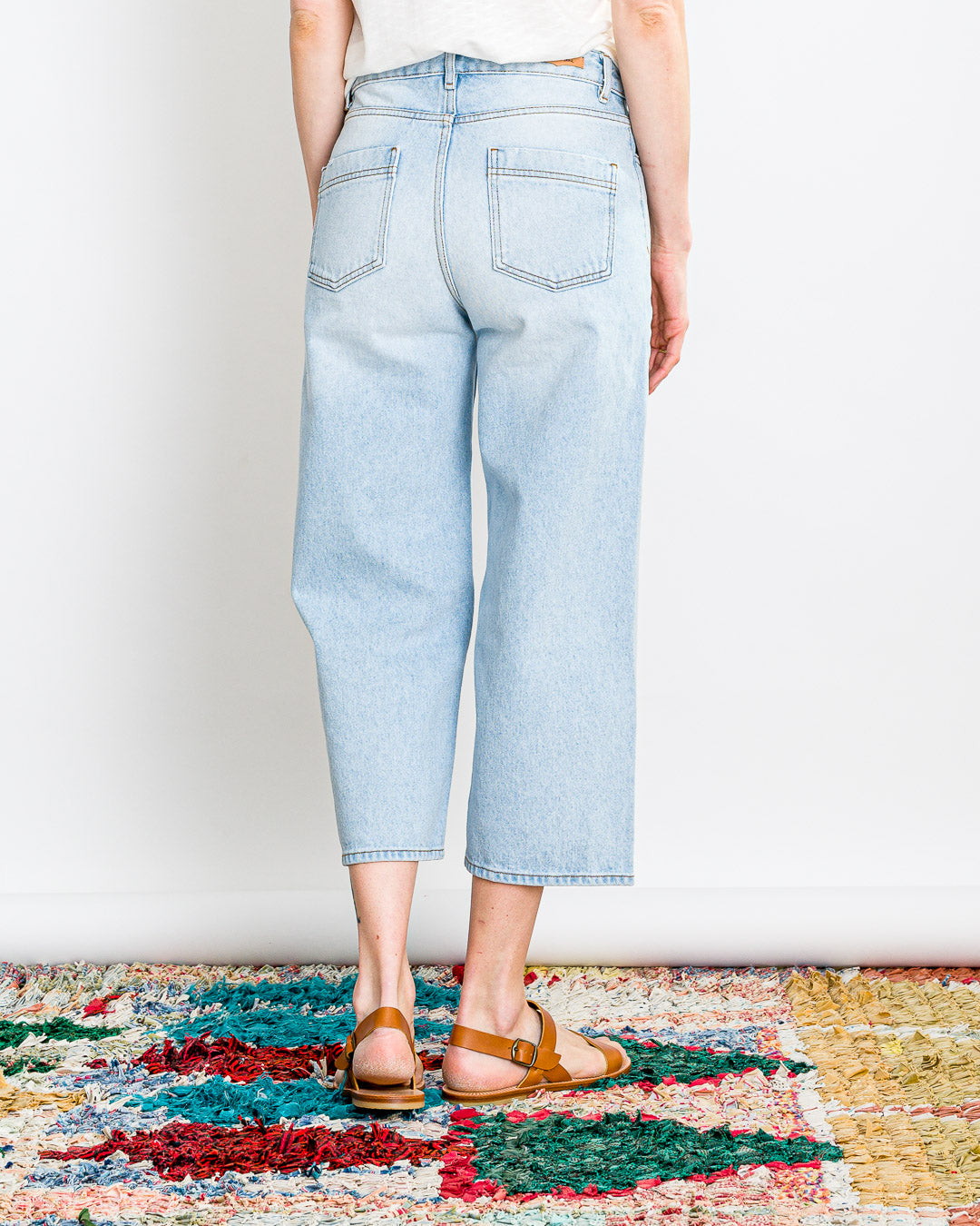 SESSUN  // Jeans Bay Pant Bleach Mood