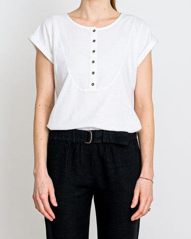 SESSUN  // Shirt Susie Optical White