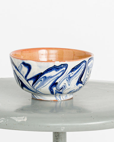 Tine K Home // Ceramic Bowl Blue
