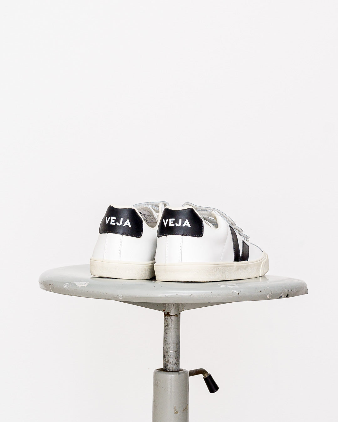 Veja  // Sneaker Esplar Leather 3-Lock White Black