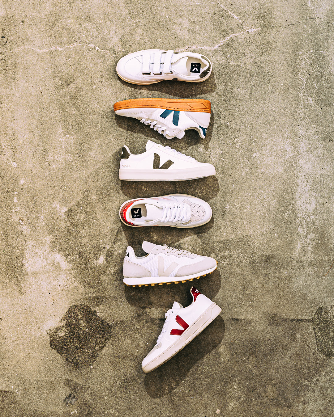 Veja  // Sneaker V-10 B-Mesh White California Natural