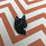 Punky Pins - Starry Cat Enamel Pin