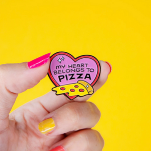 Punky Pins - My Heart Belongs to Pizza Pin de Esmalte