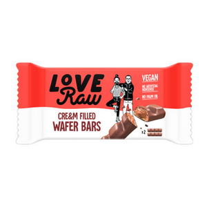 "LoveRaw - Barritas de Chocolate Estilo ""Kinder Bueno"""