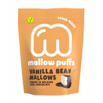 Mallow Puffs - Vegan Vanilla Marshmallow with Chocolate Coating