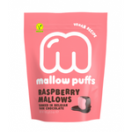 Mallow Puffs - Vegan Strawberry Marshmallow with Chocolate Coating