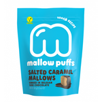 Mallow Puffs - Vegan Salted Caramel Marshmallow with Chocolate Coating