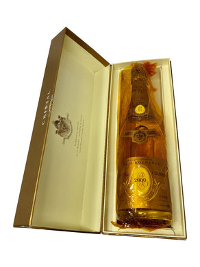 Louis Roederer Cristal 2000 Vintage Champagne. - Cambridge Champagne Company Limited.