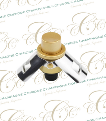 Champagne Stopper. Wine Bottle Plug Sealer - Free Shipping - Cambridge Champagne Company Limited.
