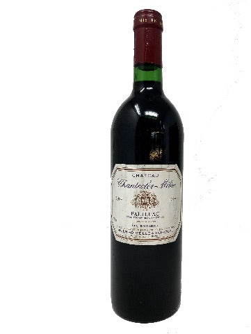 Chateau Chantecler-Millon Pauillac 1989. 30th Birthday Present Ideas. Supplied in presentation box. - Cambridge Deli