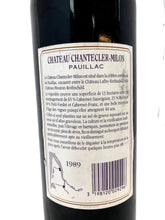 Load image into Gallery viewer, Chateau Chantecler-Millon Pauillac 1989. 30th Wedding Anniversary Present Ideas. Supplied in presentation box. - Cambridge Deli
