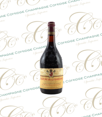 Ch. De La Gardine 1979 Chateauneuf-Du-Pape. 40th Birthday Present Ideas. - Cambridge Champagne Company Limited.